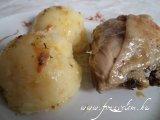 Majoránnás csirkecombok