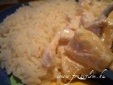 Ananászos csirkeragu