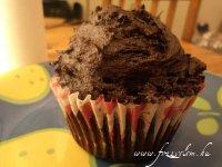 Csokoládékrémes muffin