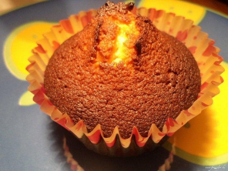 Vaníliás - fehér csokis muffin