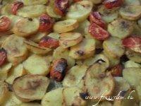 Fokhagymás krumpli