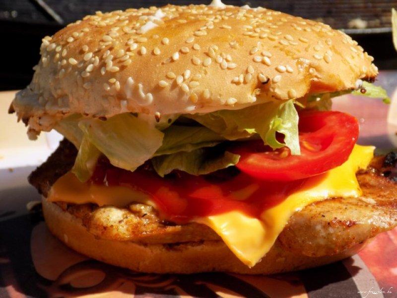 Házi csirke burger
