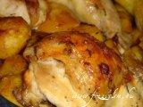Mézes - Paradicsomos csirkecombok