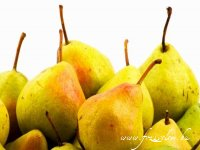 Mézes - vaníliás körtetorta